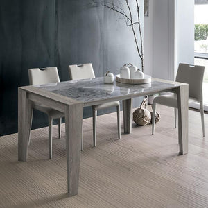 Levante laminate extending dining table