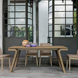 Maciste laminate extendable dining table