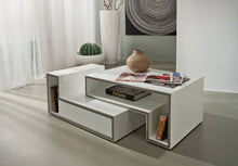Load image into Gallery viewer, Marika modular white gloss coffee table