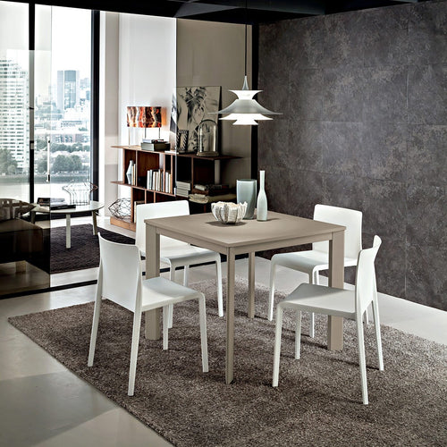 Mario extending square dining table by La Primavera - myitalianliving