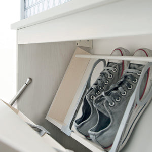 Minima suspended 4 door shoe organiser by Birex - myitalianliving