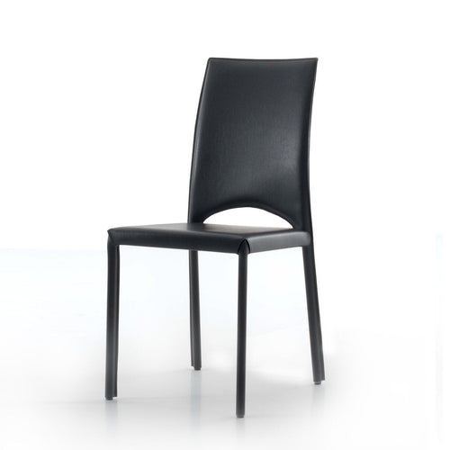Mary elegant upholstered dining chair by Compar