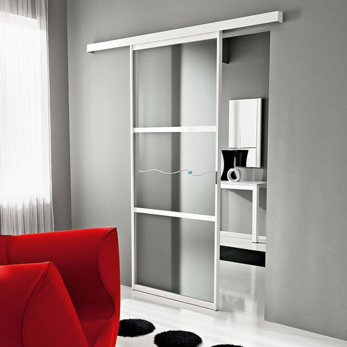 Naike single sliding door room divider by La Primavera