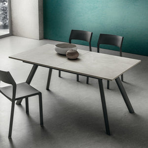 Neil modern extending dining table by La Primavera - myitalianliving