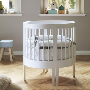 Lab baby wooden cradle-cot convertible system by Pali - myitalianliving