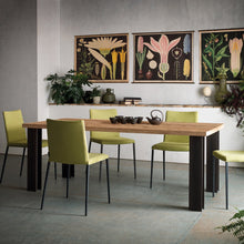 Load image into Gallery viewer, Power extending dining table with powdered steel girders by Sedit - myitalianliving