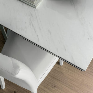 Priamo ceramic extending dining table