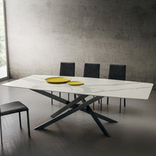 Load image into Gallery viewer, Renzo fixed rectangular dining table by La Primavera - myitalianliving