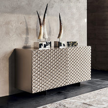Load image into Gallery viewer, Royalton elegant textured 3 door sideboard by Cattelan Italia