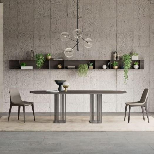 Sambuco rectangular marble dining table by Orme - myitalianliving