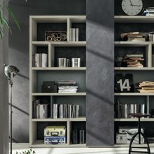Load image into Gallery viewer, Open Bookcase wall unit Composition Integra GS107 by Santa Lucia
