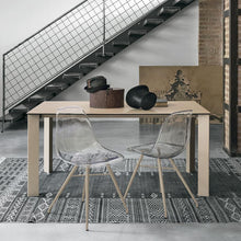 Load image into Gallery viewer, Saturno stoneware extending dining table