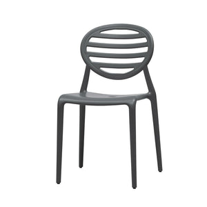 Contemporary stacking armchair 'Cool' by Scab