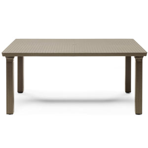Tavolone rattan garden table by Scab Design - myitalianliving