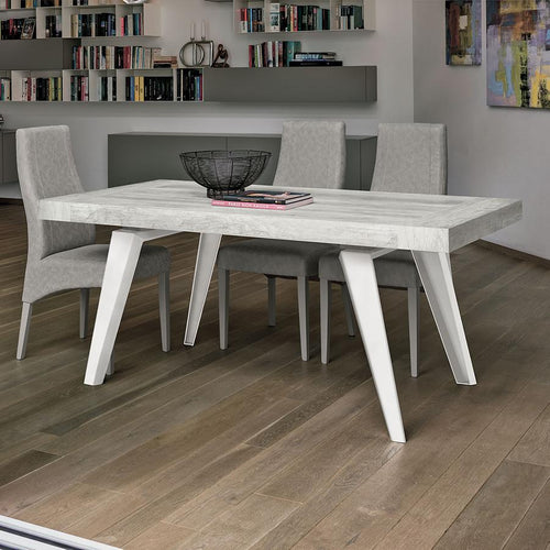 Scirocco extending laminate top dining table