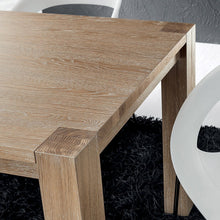 Load image into Gallery viewer, Sergio extending natural oak dining table by La Primavera - myitalianliving