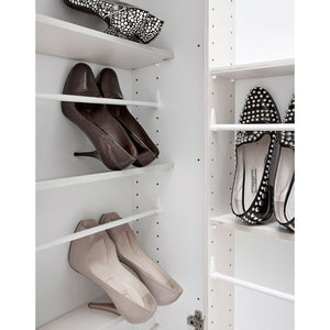Linear Hallway shoe organiser with mirror door 50cm by Birex - myitalianliving