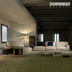 Modern 5 seater sectional sofa Doyle by Domingo Salotti
