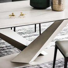 Load image into Gallery viewer, Stratos keramik fixed dining table by Cattelan Italia