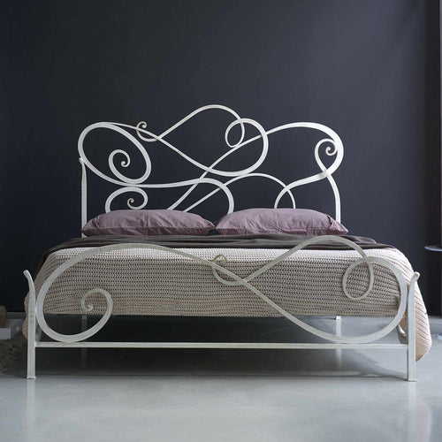 Aura luxury wrought iron king size bed Cosatto Letti