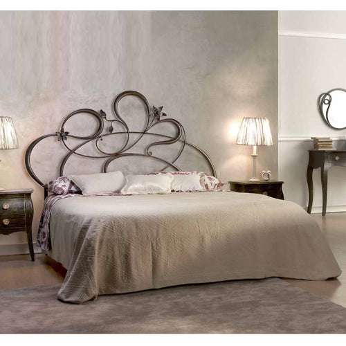 Anemone luxury wrought iron king size bed by Cosatto Letti