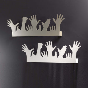 Contemporary wall clothes hanger/hook People by Cosatto