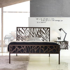 Gringo wrought iron king size bed by Cosatto Letti