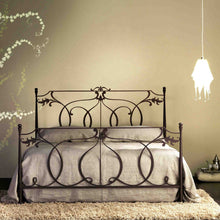 Load image into Gallery viewer, Concerto laser cut tubular wrought iron bed by Cosatto Letti