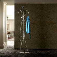 Load image into Gallery viewer, Classic metal slimline coat & hat stand Flower by Cosatto