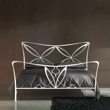 Load image into Gallery viewer, Magic king size wrought iron bed by Cosatto Letti
