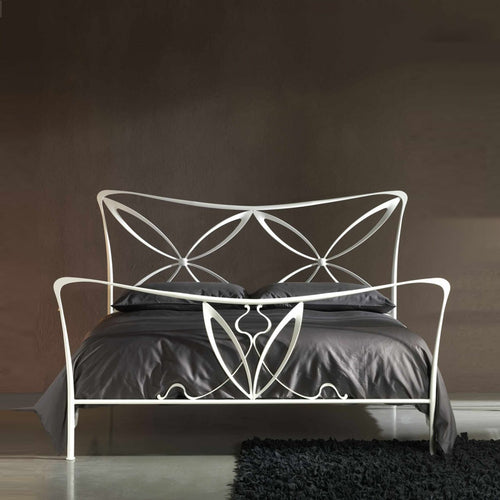 Magic king size wrought iron bed by Cosatto Letti