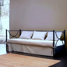 Load image into Gallery viewer, Duetto wrought iron sofa bed