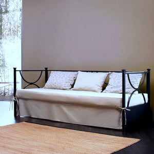 Duetto wrought iron sofa bed