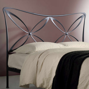 Magic king size wrought iron bed