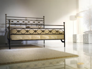 Incanto tubular wrought iron bed
