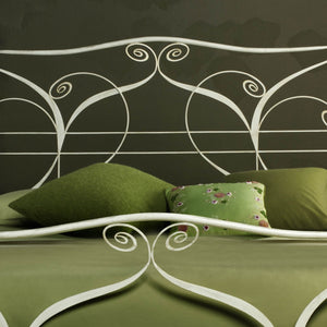 classic wrought iron bed