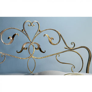 Rubens vintage wrought iron king size bed