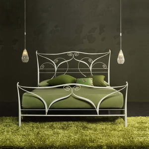 Klimt classic wrought iron bed by Cosatto Letti