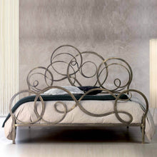 Load image into Gallery viewer, Azzurra luxury wrought iron king size bed by Cosatto Letti