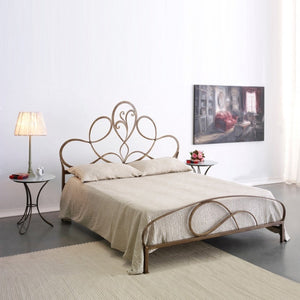 Violetta classic wrought iron king size bed by Cosatto Letti