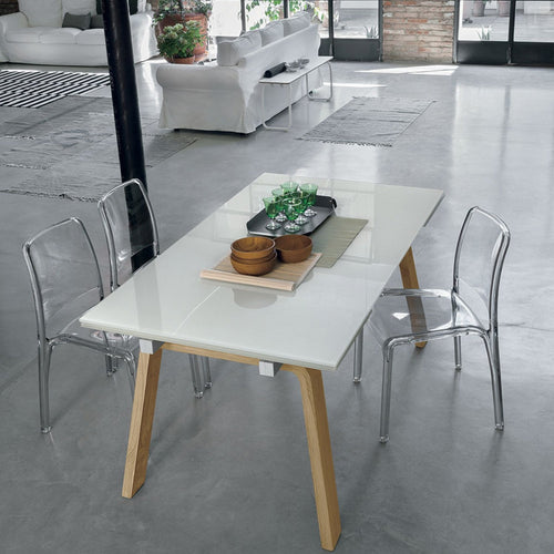 Marte stoneware extending dining table by Target Point - myitalianliving