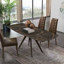 Load image into Gallery viewer, Vortice round extending dining table by Target Point