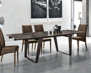 Zeus 160 extending dining table by Target Point