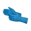 656 - Cut Glove Reusable Rubber Hand Gloves (Blue) - 1 pc