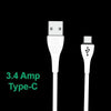 309_Premium 3.4 Amp Fast Charging 1 m USB Type-C Cable