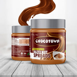 054 Chocotown Chocolate Spreads - Premium Hazelnuts Spreads - 350 gm