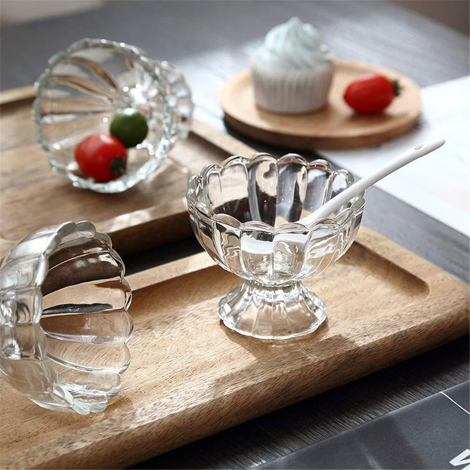 091 Serving Dessert Bowl Ice Cream Salad Fruit Bowl - 6pcs Serving Dessert Bowl Ice Cream Salad Fruit Bowl - 6pcs