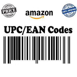 UPC-A / EAN-13 CODES for Amazon (10 UPC codes)