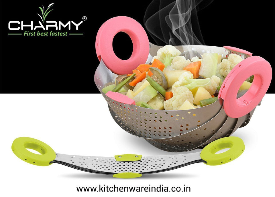 088 Plastic Colander Strainer (400ml, Multicolour)
