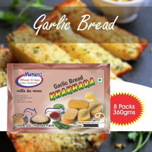 030 Garlic Bread Khahkra (Pack of 8)
